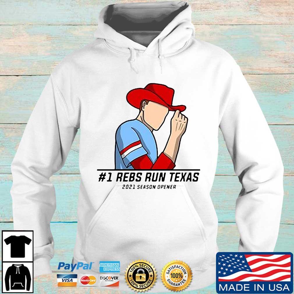#1 rebs run Texas 2021 season opener s Hoodie trang