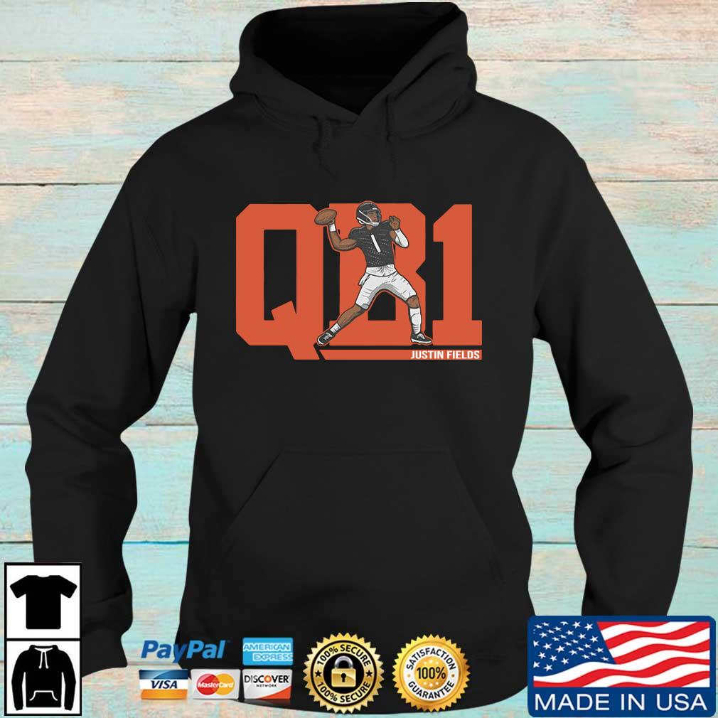 QB1 Justin Fields Shirt Hoodie den