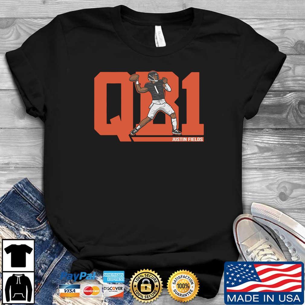 QB1 Justin Fields Shirt