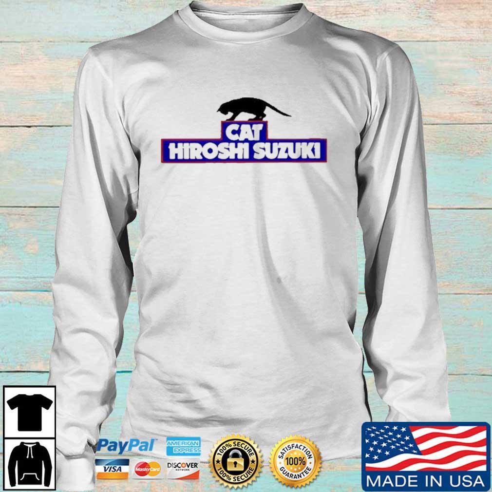 Cat Hiroshi Suzuki Shirt Longsleeve trang