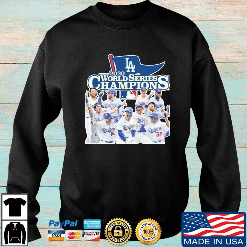 Los Angeles Dodgers 2020 World Series Champions Shirt