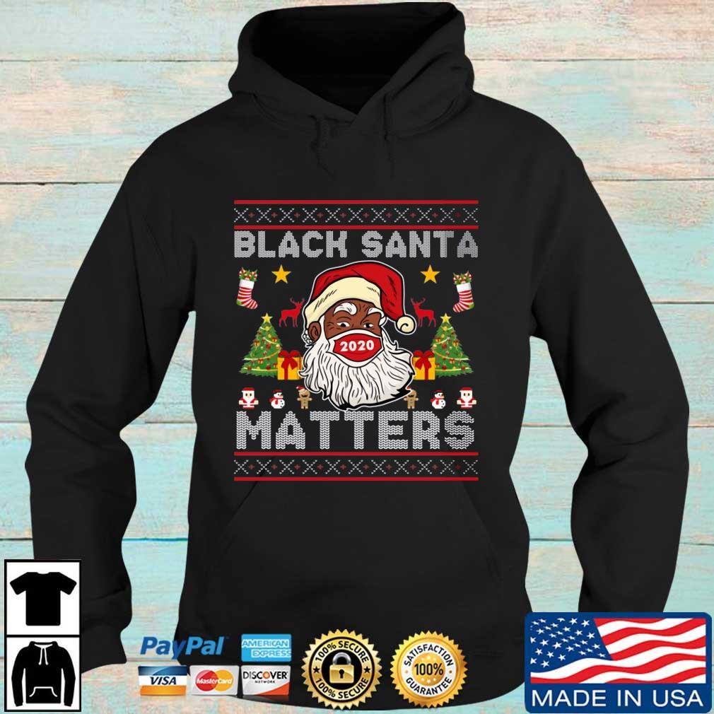 Black Santa matters 2020 Ugly Christmas s Hoodie den