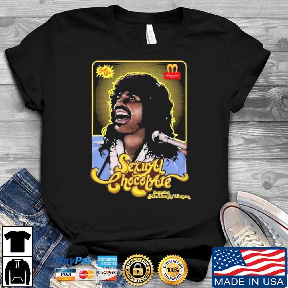 Original Prince Sexual Chocolate McDonald's Shirt