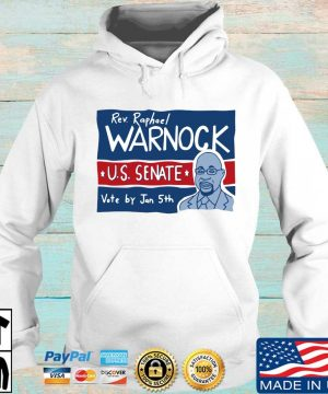 Rev Raphael Warnock Us senate vote by jan 5th s Hoodie trang