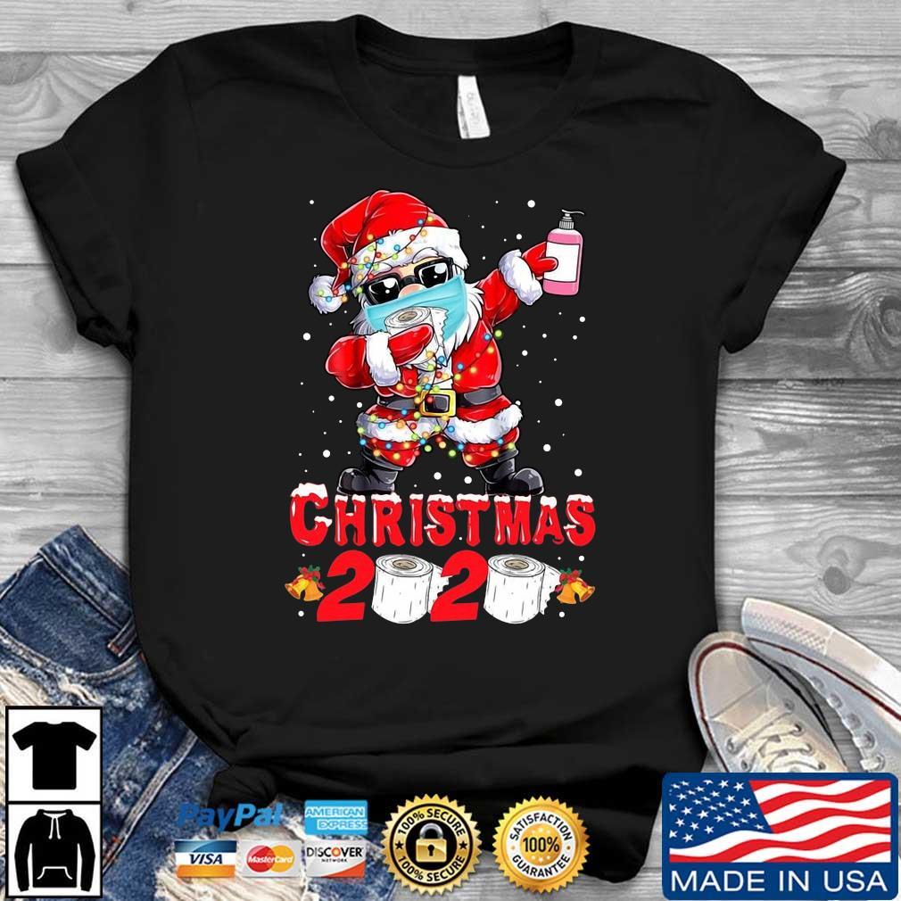 Santa Claus quarantine Christmas 2020 shirt