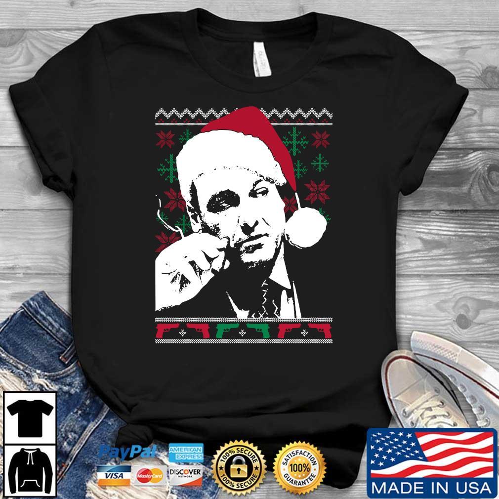 Santa Tony Soprano Ugly Christmas sweatshirt