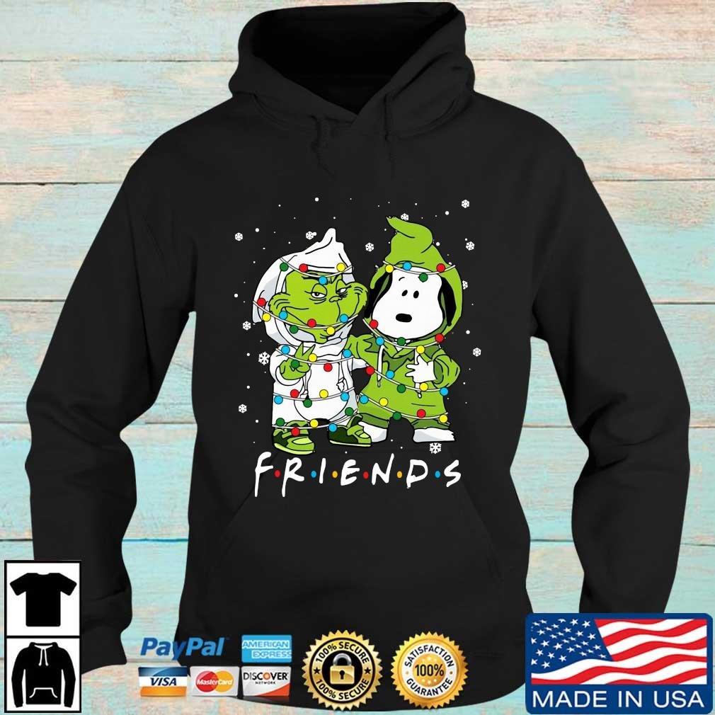 The Grinch and Snoopy friends Christmas s Hoodie den