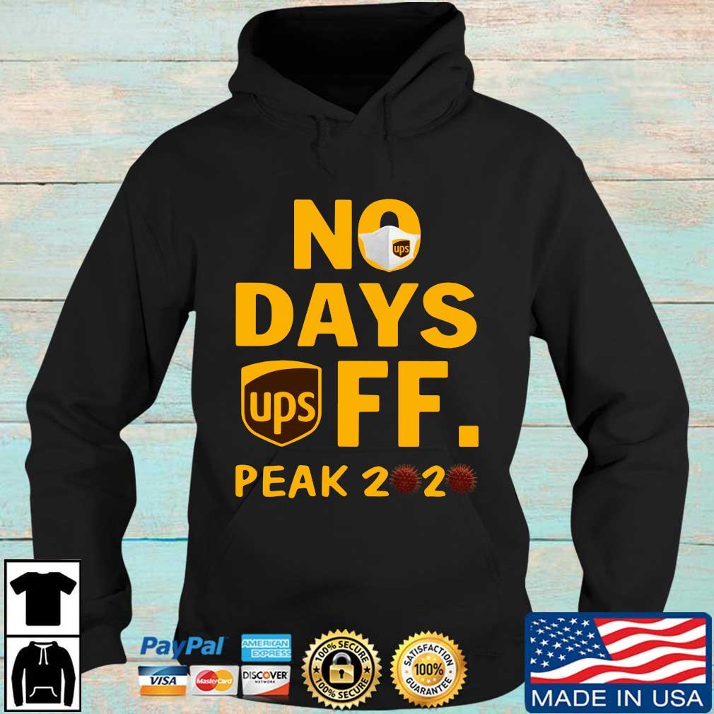 UPS no days off peak 2020 s Hoodie den