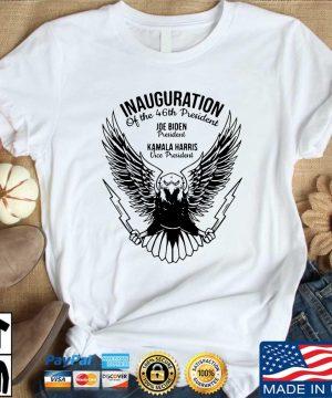 Inauguration of the 46th president Joe Biden president Kamala Harris vice president shirt