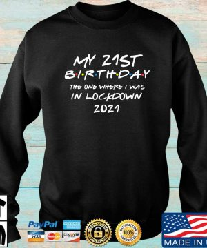 My 21st birthday the one where I was in lockdown 2021 s Sweater den