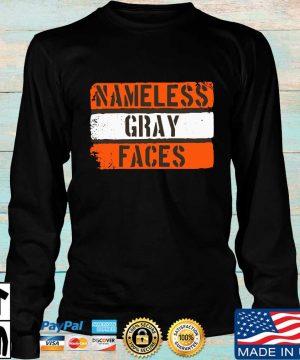 Nameless gray faces s Longsleeve den