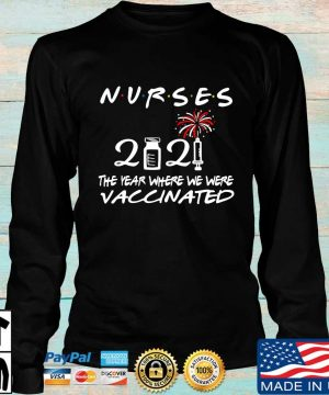 Nurses 2021 the one where we were vaccinated s Longsleeve den