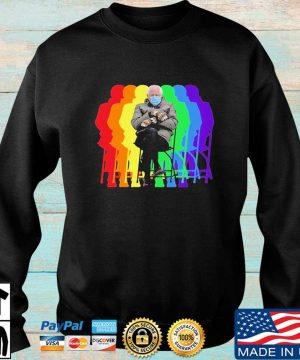 Official Bundled Up Bernie Sitting In Chair Inauguration 2021 Shirt Sweater den