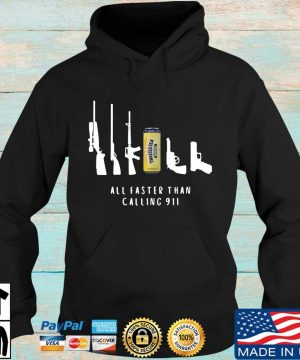 Twisted Tea all faster than calling 911 sweater Hoodie den