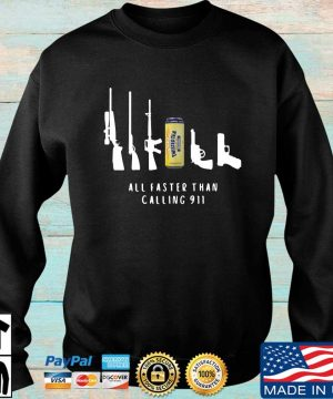 Twisted Tea all faster than calling 911 sweater Sweater den