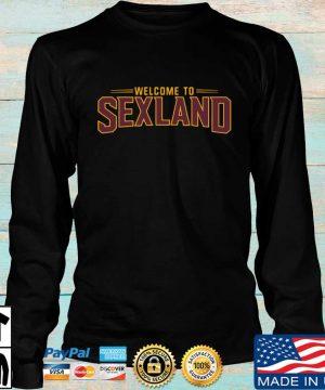 Welcome to sexland sweater Longsleeve den